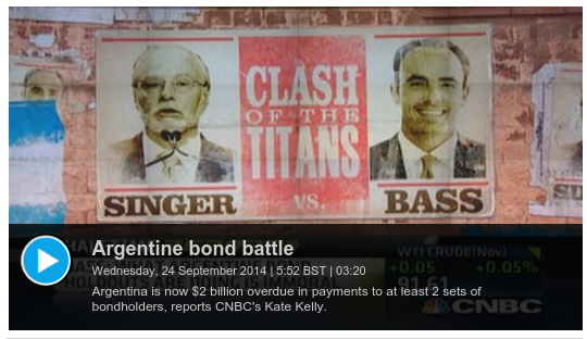 ' Argentinian Bond Battle '
