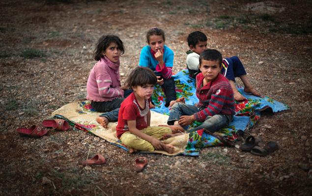 ' Syria's Starving Children Caused by War-Mongers '