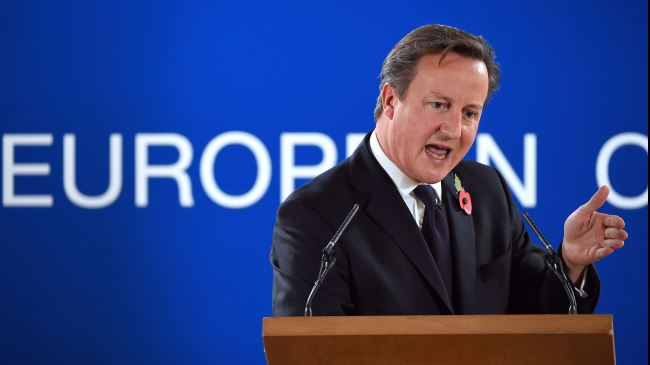' David Cameron Refuses to Pay £1.7 billion to EU '