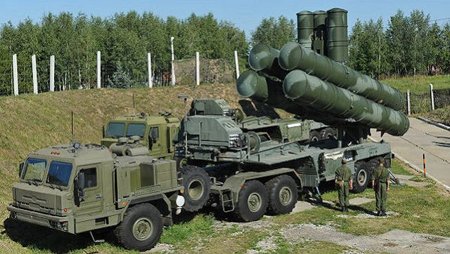 'S-400 surface-to-air missile systems '